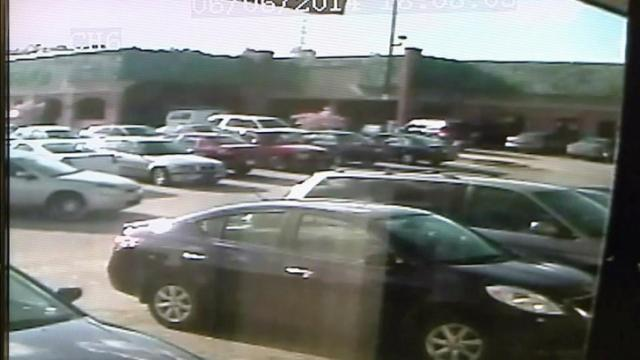 Surveillance video: Durham shootout
