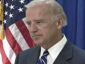 Democratic vice presidential candidate Joe Biden campaigning in Charlotte, N.C.