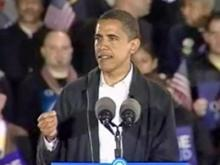 Web only: Obama speaks in Charlotte