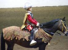 Paso Fino Costume Winner, NC State Fair 2007