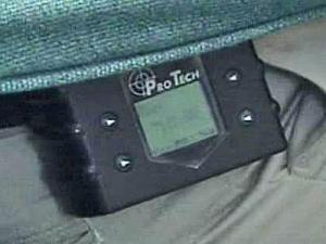 GPS monitor for sex offender