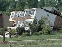 Residents clean up after NC tornado