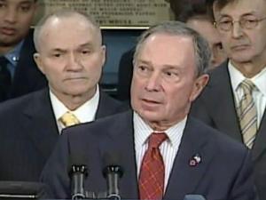N.Y. Mayor Michael Bloomberg