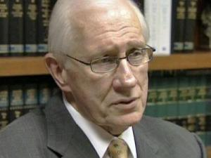 Sen. R.C. Soles during an interview with WRAL News on Aug. 18, 2009.