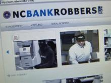 N.C. bank robbers get Web site