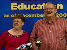 2010: Web only: Asheville man claims $141 million lottery prize