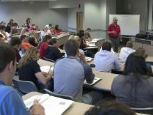 UNC officials say cuts will result in fewer, larger classes
