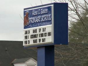 Parents said three students at Alma Easom Primary School in Fayetteville were punished for acting up in class by being locked in a janitor's closet.