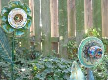 Garden Walk with art from Mary Jo Stephenson