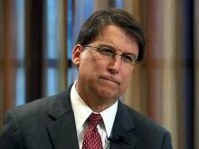 Web only: McCrory lays out campaign themes
