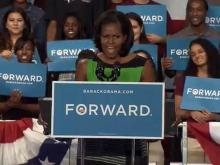 Michelle Obama speaks at NCCU