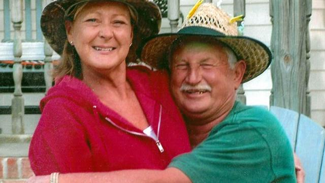 Paul Wade Adams Sr. and Cathy Adams in an undated family photo (Photo courtesy of Fayetteville Observer)