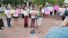 Wildin David Guillen Acosta shared his story at a press conference on Aug. 29