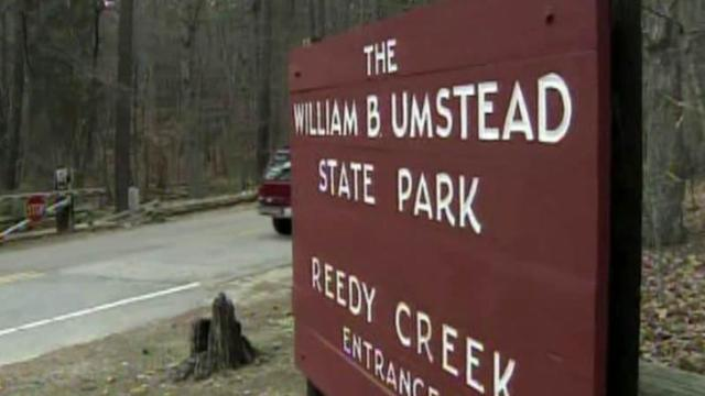 Umstead State Park sign