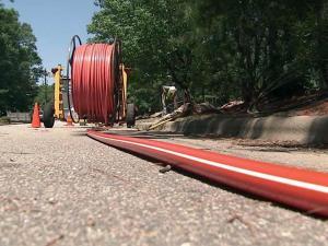 Broadband cable, Internet service