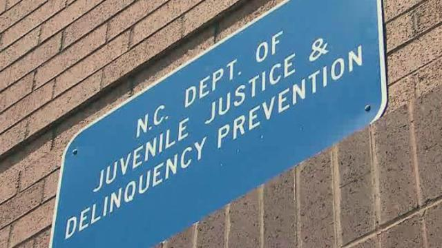 NC Department of Juvenile Justice sign