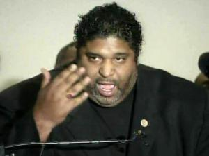State NAACP President Rev. William Barber criticizes the budget proposals drawn up by GOP lawmakers during a May 25, 2011, news conference.