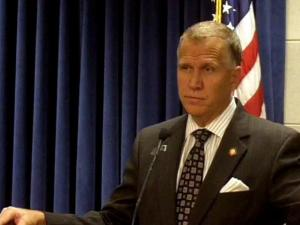 Speaker Thom Tillis news conference, May 25th