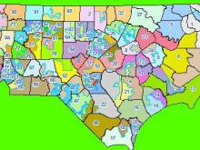 House redistricting map draft 2