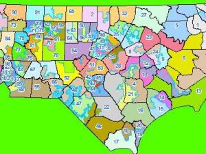 Proposed House redistricting map, Draft 2, July 21, 2011.