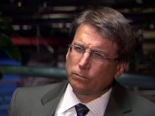 Without committing to campaign, McCrory offers economic views