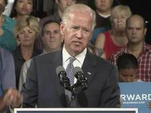 Biden campaigns in Durham