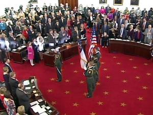 The N.C. Senate opens its 2013 legislative session on Jan. 9, 2013.