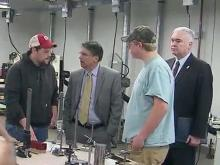 Vocational education boosted with McCrory's signature