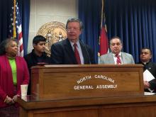 Rep. Paul Luebke speaks in support of HB184