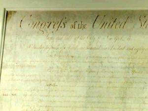 North Carolina reclaimed its copy of the Bill of Rights in 2005, two years after federal agents seized it in a sting. A Union soldier stole the document at the end of the Civil War.