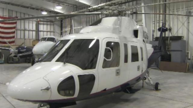 Sikorsky helicopter owned by the state of North Carolina.