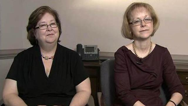 Aldona Wos and Carol Steckel