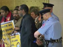 Despite arrest, NAACP leader promises more protests