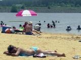 Jordan Lake beach