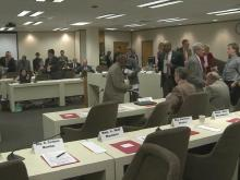 Crowd joins committee for voucher bill debate