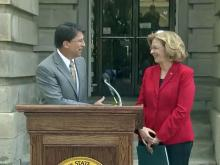 Governor, Raleigh mayor discuss Dix lease