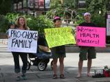 Protesters decry Senate abortion vote