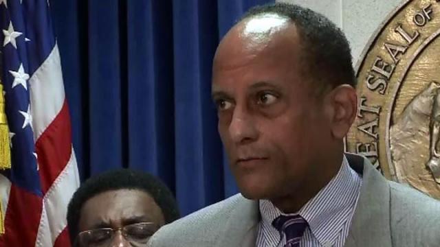 House Minority Leader Larry Hall