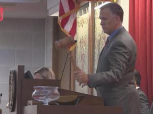 House Speaker Thom Tillis gaveled the 2013 legislative session to a close just before noon on Friday.
