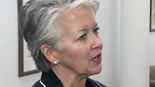 Commerce Secretary Sharon Decker
