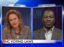 Duke prof discusses suits over NC elections law