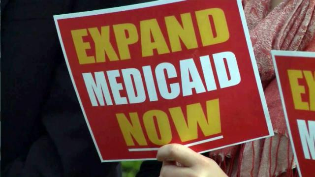 Expand Medicaid sign