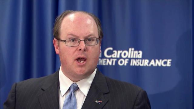 Insurance Commissioner Wayne Goodwin vowed during a Nov. 15, 2013, news conference that his agency would speed the approval process for insurers to offer 2014 health plans that don't meet the minimum requirements of the Affordable Care Act.