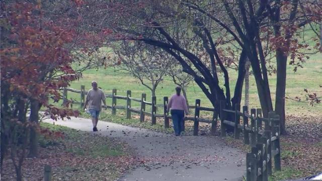 Dorothea Dix property in fall