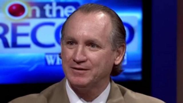 """Francis DeLuca of the Civitas Insitute speaks about polling on a March 2012 episode of """"On the Record."""""""