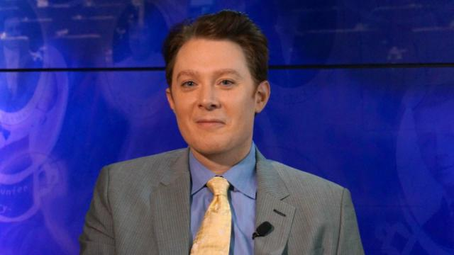 Clay Aiken on campaign trail