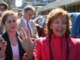 Sen. Kay Hagan files for re-election