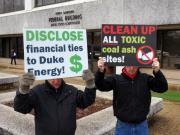 Duke Energy protest in Raleigh