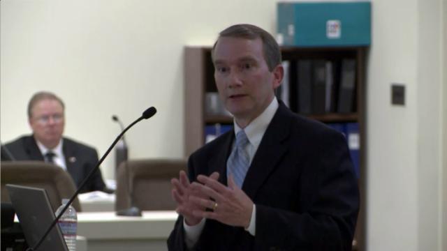 Paul Newton, Duke Energy president of North Carolina operations