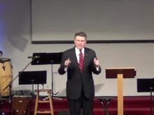 Mark Harris at Blackwelder Park Baptist Church